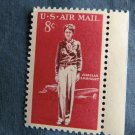 Amelia Earhart, 8c U.S. Air Mail, Postage Stamp, Flight, Lockheed Electra