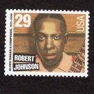 Robert Johnson, U.S. Postage Stamp, Blues & Jazz Singers, Entertainer, Black Heritage