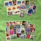 Large Assortment of 50 U.S. Postage Stamp Collection