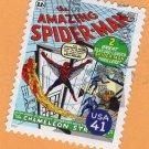 Amazing Spiderman, Postage Stamp, Marvel Comics, Super Heroes, Cover #1