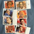 Blues & Jazz Singers, U.S. Postage Stamps, Entertainer, Topical, Set of 8