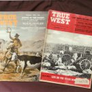 True West Vintage Magazines, 1955, Lost Mine, Hickock, Wounded Knee, Cherokee Strip