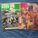 Two Issues True West Vintage Magazines, 1957, Calamity Jane, Tom Horn, Western History