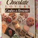 Chocolate Lover's Cookies And Brownies HC Book Recipes Photos Cookbook