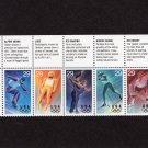 Winter Olympics 1994 U.S. Postage Stamps Sports Hockey Skiing 29c