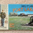 Historic Fort Laramie Postcard Souvenir Booklet Historic Military Re-Enactment