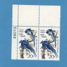 Columbia Jays Air Mail Vintage Postage Stamps 20c Birds Avian