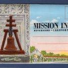 Mission Inn Riverside, California, Foldout Postcard Folder, Scenic, Bell Tower