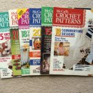 McCall's Crochet Patterns Magazines, Ornaments, Afghans, Clothing, Instructions