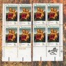 Madonna Christmas Holiday Religious U.S. Postage Stamps Miniature Art Traditional