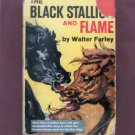 The Black Stallion & Flame HC Book With Dust Jacket, By Walter Farley, Fiction, Horses