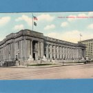 Federal Building, Indianapolis, Indiana, Vintage Postcard, Downtown View, Historic Building