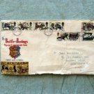 The Battle of Hastings First Day Cover, Special Commemorative Issue, DAMAGED