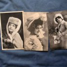 Three Lovely Young Women With Hats Postcards, Portraits, Early RPPC