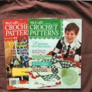 McCall's Crochet Patterns, Two Magazines, Crafting, Arts, Afghan, Bedspread, Doily