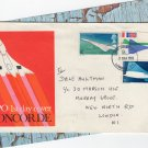 CONCORDE GPO First Day Cover FDC Postmark London With Insert Vintage