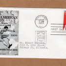 Pan American Games, Chicago, Illinois, First Day of Issue, 1959, 10 Cents, U.S. Air Mail