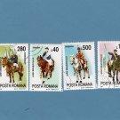 Costumed Horsemen, Fancy Horses, Postage Stamps, Costumes, Jubilee of Brasov