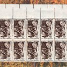 Pap Test, U.S. Postage Stamps, Vintage, Block of Ten For Crafting, Crafts, Projects, Mailing