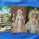 SPAIN Full Color Postcards, Mallorca, Seville, Esperanza Macarena, Castle, Cathedral