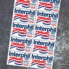 Interphil Mint Block of Ten Vintage U.S. Postage Stamps, 13c, 1976, USPS
