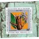 Rwanda Postage Stamp Single 20c 150th Anniversary of Discovery of Quinine