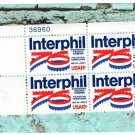 Interphil '76 U.S. Postage Stamps International Philatilic Exhibition Comemmoratives