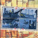 Boston Tea Party 3c Vintage Postage Stamps Se-Tenant Block of Four American Bicentennial