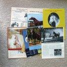 Arabian Horse Vintage Clippings, Ads, Articles, Scrapbook Pictures, Pedigrees, Photos, Ephemera