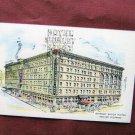 Shirley Savoy Hotel, Denver, Colorado Vintage Postcard, Historic Building, Artist View
