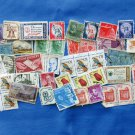 Assortment of U.S. Postage Stamps For Crafting, Decoupage, Collage, Scrapbooking