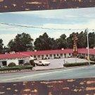 Bella Vista Motel, Colorado Springs, Advertising Postcard, Scenic View, Vintage
