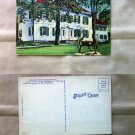 Washington's Headquarters, Morristown, New Jersey, Postcard, Vtg, Historic Building