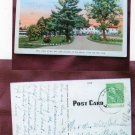 Dell View Hotel, Lake Delton, Wisconsin, Vtg Postcard, Scenic, With Trees