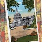 U.S. Capitol, Washington, DC, White House Postcard, Scenic View, Historic