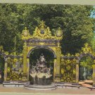 NANCY Postcard FRANCE Place Stanislos Fontaine d'Amphitrite