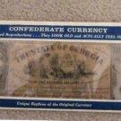 Confederate Currency Vintage Reproductions, Unique, Civil War, Banknote Set, Money