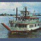 M.V. Mark Twain Sternwheeler Boat Postcard New Orleans River