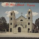St. Anne's Catholic Church, Deming, New Mexico Postcard Historic Building