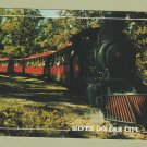 Silver Dollar City 1880s Passenger Steam Train Postcard