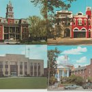 Lot of 4 OHIO POSTCARDS Medina County Courthouse, Architecture, Buildings