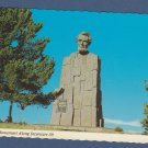 Lincoln Monument Interstate Highway 80 Postcard Wyoming Scenic