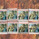 Christmas U.S.A. Holiday Postage Stamps, Traditional, Madonna, Botticelli Art