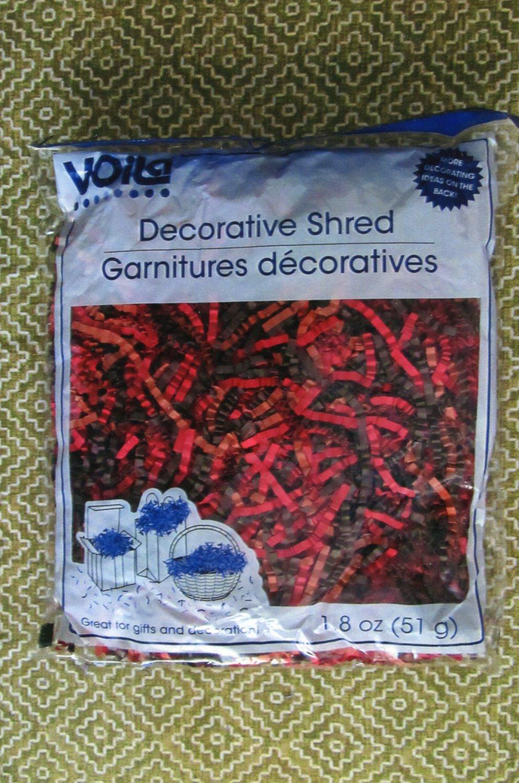 Decorative Shred Multi - Color, Crinkle Paper, New Bag, Confetti, Birthday, Wedding