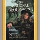 National Geographic Magazine, August 1985 Issue, Fossils, Snowy Mountains, Pearls