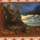 The House of Seven Gables Vintage Postcard, Salem, Massachusetts, From A Painting