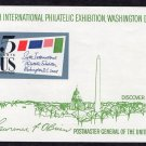 Sixth International Philatelic Exhibition Souvenir Sheet, 1966 Vintage SIPEX