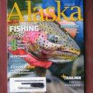 Alaska Magazine, April 2019 Issue Fishing Klondike Gold Rush Shipwreck Aleutians