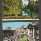 IRELAND Color Postcards Botanic Gardens Dublin Trinity College Limerick Booklet
