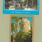 Lot of Two Postcards St. Thomas Virgin Islands Harbor Castle Hotel